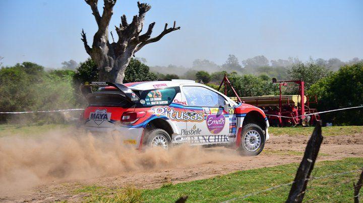 En casa. El uruguayense Leo Bonnin correrá de local en la clase principal con un Citroën DS3..