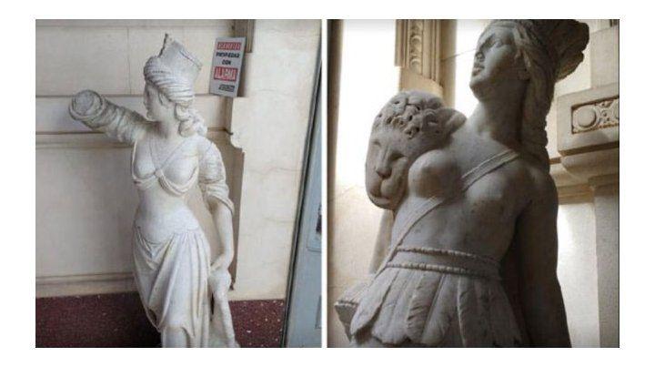 Sigue la polémica por las estatuas secuestradas en el museo de Victoria