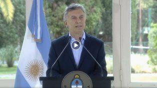 Macri anunció cambios al plan de viviendas, relanzamiento del Procrear y topes a cuotas de créditos UVA