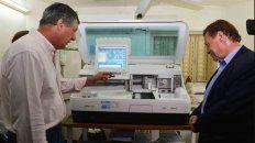 nueva aparatologia para diagnosticos medicos en el area de salud municipal