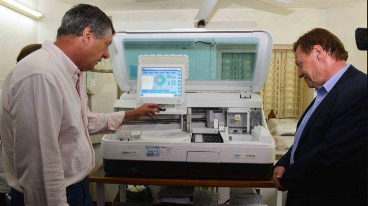 Nueva aparatología para diagnósticos médicos en el área de Salud municipal