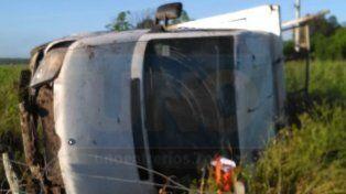 Accidente en cercanías de Seguí: Un hombre sufrió golpes y fracturas múltiples