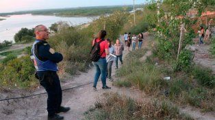 Desmoronamiento en Diamante: La Justicia desalojó a 14 familias