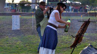 Por la lluvia la fiesta del Costillar de Novillo a la Estaca de Tabossi se reprogramó para el domingo