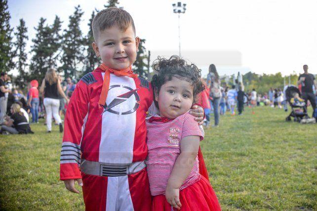 Disfrazate con el CAE: Los más pequeños también tuvieron su fiesta de Disfraces