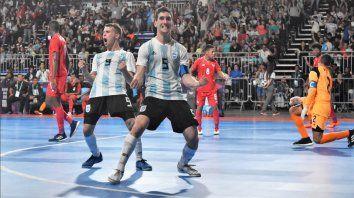 futsal: tras goleada a panama argentina pasa a semifinales contra brasil