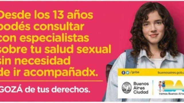 Lanzan campaña de educación sexual con lenguaje inclusivo