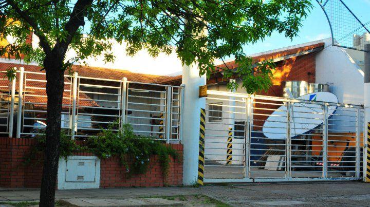 Zona segura. La empresa de comunicaciones está a metros del Bersa de Gualeguaychú y Alsina