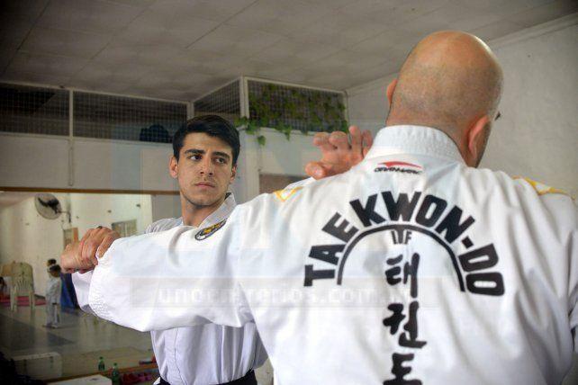 El paranaense Tomás Baños, campeón Sudamericano de Taekwon-Do