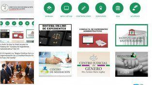 A partir de este martes de puede consultar online expedientes administrativos de la Justicia entrerriana
