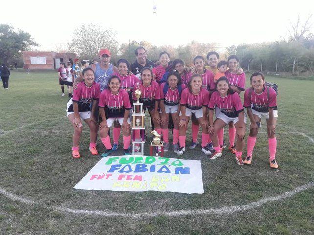Desde Victoria: Las chicas de San Benito se quedaron con el primer puesto.