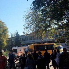 Al menos 18 muertos y más de 50 heridos en un atentado en una escuela de Crimea