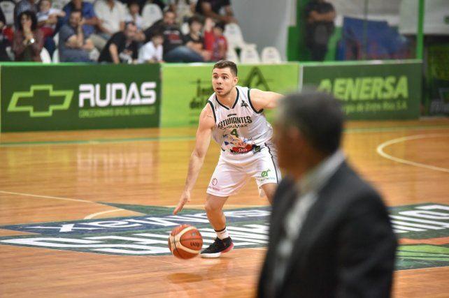 El base Álvaro Merlo tuvo una destacada participación
