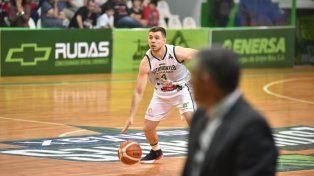 El base Álvaro Merlo tuvo una destacada participación, sumando minutos de experiencia en Liga Nacional.