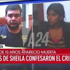 Los detenidos. Los tíos confesaron a policías ser autores del femicidio.