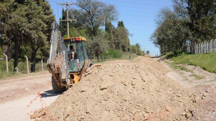 Se iniciaron las obras complementarias al nuevo Cementerio Municipal