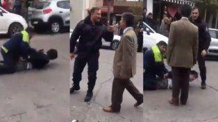 Maltrato. El juez intervino e intentó desautorizar a los policías.