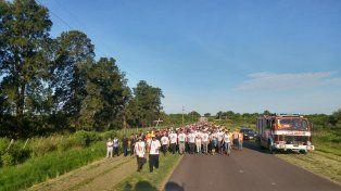 Foto: Peregrinación de los pueblos
