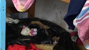 La vivienda donde habría estado cautiva Sheila (Foto: Clarín)