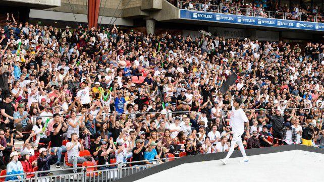 Nyjah Huston ganó el oro en el Street de los X Games Sydney