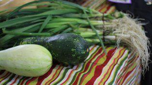 También se consiguen verduras de estación.