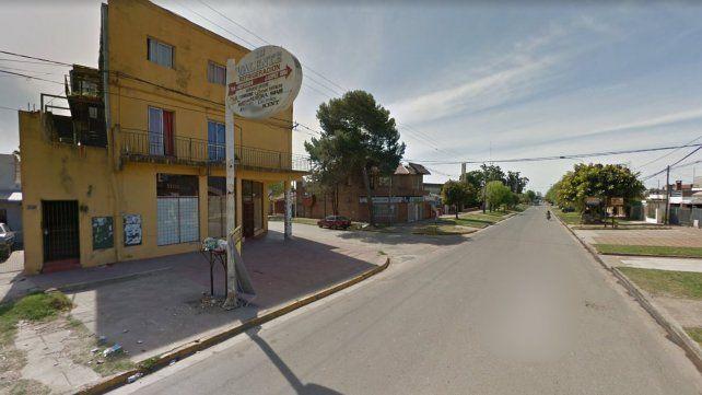 Violencia. El hecho sucedió en plena calle Montiel y J. J. Paso.