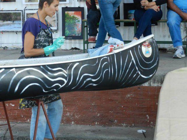 Arte. Artistas plásticos de la ciudad intervendrán y decorarán kayaks y canoas de integrantes de Ecenaa.