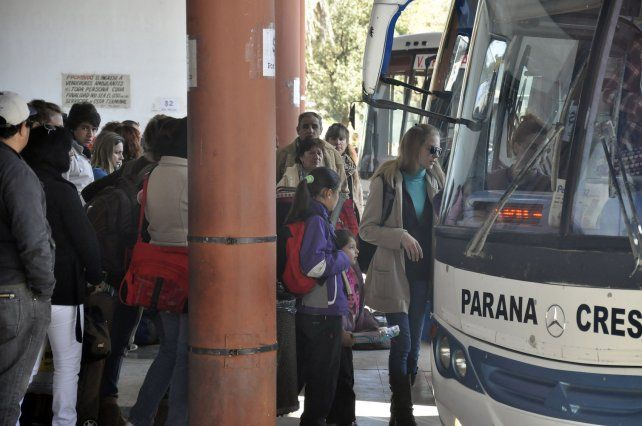 Debate. Los viajes en el interior provincial también reciben gasoil subsidiado o compensaciones por pasajeros