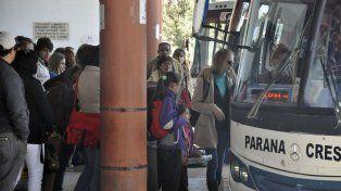 Debate. Los viajes en el interior provincial también reciben gasoil subsidiado o compensaciones por pasajeros, para evitar boletos más caros.