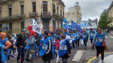 parana: organizaciones sociales y gremiales se manifiestan contra del presupuesto 2019