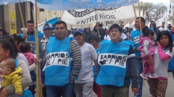 Paraná: Organizaciones sociales y gremiales se manifiestan contra del Presupuesto 2019