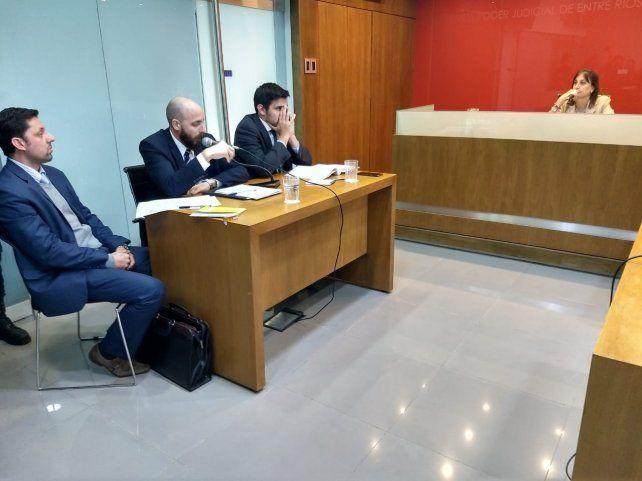 Posturas encontradas. La querella y la fiscalía disintieron en las conclusiones del incidente. Foto: Javier Aragón.