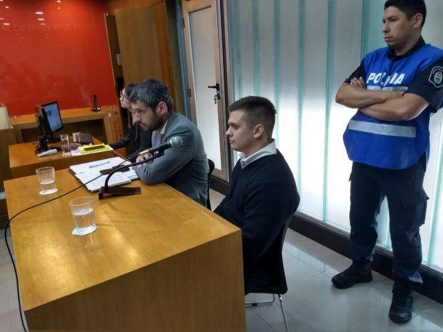 El acusado. El conductor del auto no fue comprometido por el fiscal. Foto: Javier Aragón