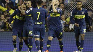 El delantero agradeció al cielo el primer gol.