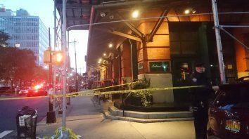 El restaurante del actor en Nueva York (AP)