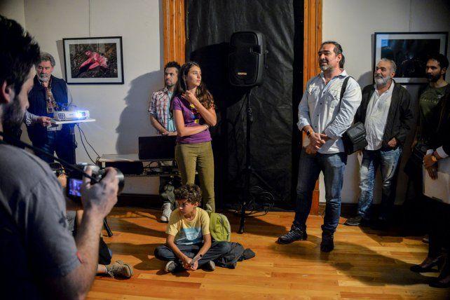La fotos continúan expuestas en el segundo piso de la Casa de la Cultura de Entre Ríos.