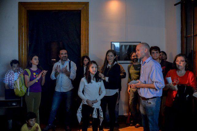 Julián Stopello coordina las acciones culturales de Cauce.