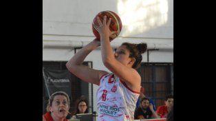 La alera es una de la referentes del equipo de Paraná