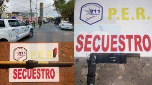 Por drogas y abuso de armas de fuego, realizan 16 allanamientos simultáneos en barrio Paraná V