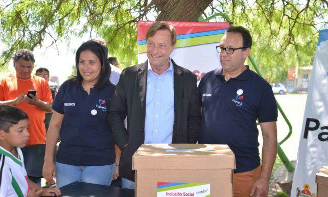 Impulsan programa de asistencia sanitaria, alimenticia y habitacional a barrios humildes