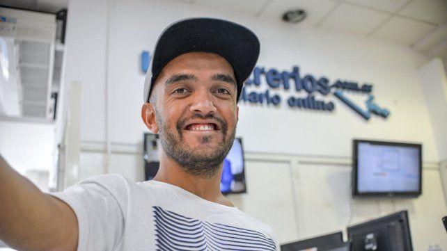 El jugador de Paraná marcó uno de los goles de la victoria