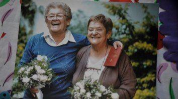 murio ramona arevalo, militante lgbt y protagonista del primer casamiento entre mujeres en el pais