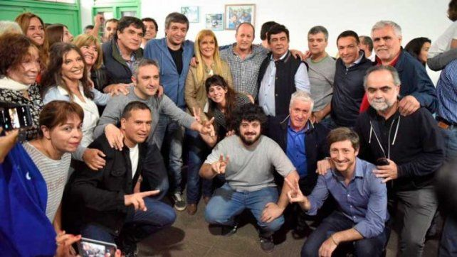 Máximo recordó a Néstor Kirchner con arengas y críticas