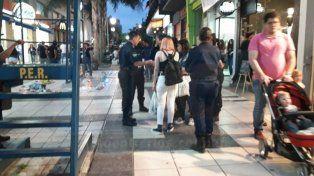 A Minoridad. A la adolescente se le encontró lo robado en el local. Foto: Gabriel Miño