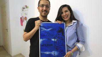Solidaridad. Con su testimonio, Walter y Cristina promueven la importancia de la donación de órganos.