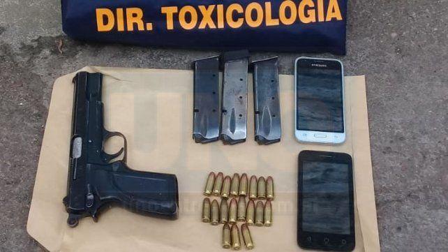 Lo que quedó tras la detención de los policías vinculados con la droga en Villaguay