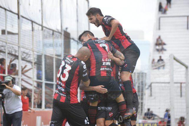 Festejo del equipo paranaense.