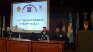 Disertación. La delegación entrerriana habló de la investigación en el caso Trossero.