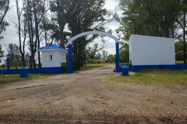 El trágico accidente se produjo cerca delhospital Colonia de Salud Mental Dr. Raúl Antonio Camino.