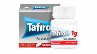 Prohíben la venta de un lote de Tafirol